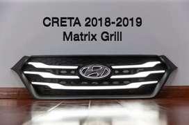 Creta 2018 led grill with matrix indicators
