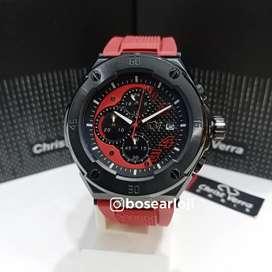 Jam Tangan Christ Verra CV 10508 Red
