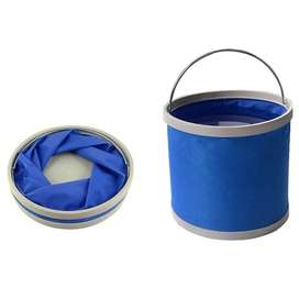 Folding Bucket Fishing Waterproof Pail 11L Ember Lipat Memancing 11 L