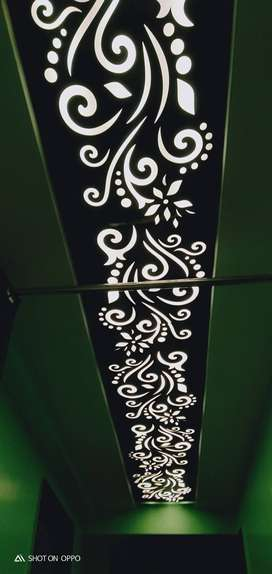 For ceiling design