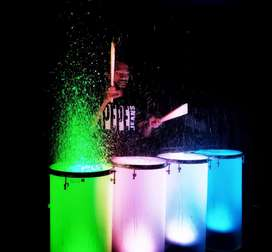 Liquid drums with dj party (combo)