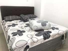 Disewakan apartemen type 2br fuulfurnished bagus di bassura city