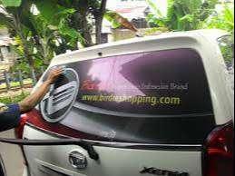 Big Deal Promo Cetak Kaca Film Oneway kacafilm promosi fullcolor motif
