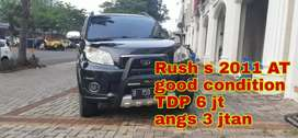 Rush s 2011 At TDP ceper good condition