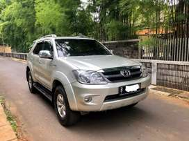 Toyota Fortuner G Luxury Tahun 2007 Istimewa bisa DP minim