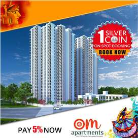 Pareena OM Apartments 2 BHK Home Book Today!