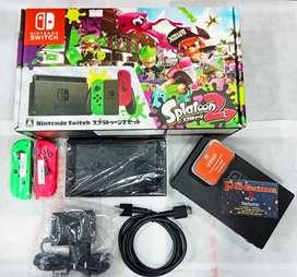 Nintendo switch 128gb fullset