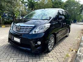 TOYOTA ALPHARD S AUDIO LESS AT HITAM 2010