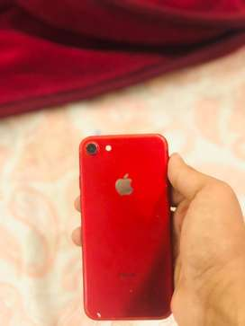 Iphone 7 red colour 128GB