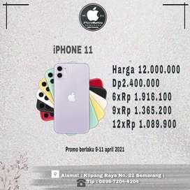Iphone 11 64gb ibox PROMO WEEK END kredit cepat