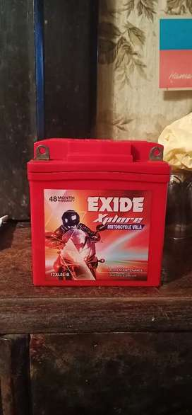motorcycle battery -  selling price only 1000/- ₹