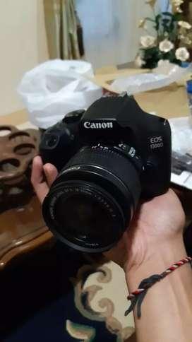 """Canon 1300d lensa fix, kitab"""" lengkap. Tas, memori, tripod"""