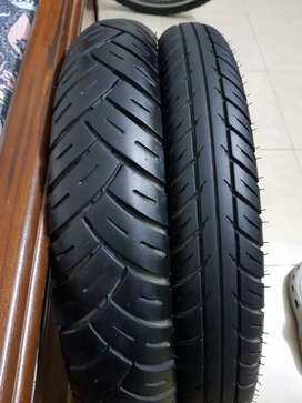 Timsun motorcycle bike tires front and back