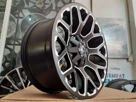 Ready Velg AMW Country R20 PCD 6x139.7 ET 15 MB+ Milling