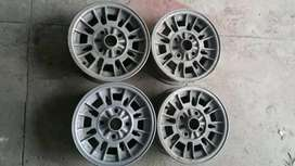 120x4 PCD Mazda Factory Alloy Wheels Rims