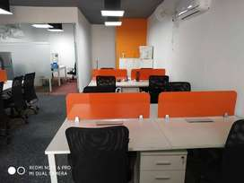 Fully furnished 12 seater office available for rent at R.N.T Marg