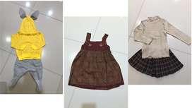 Preloved baju anak cewek 95% like new