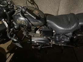Royal Enfield with same engine and chassis number