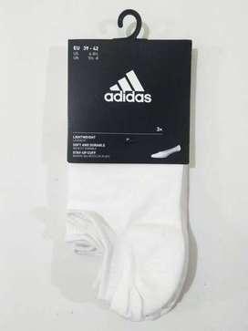 3 Pasang Kaos Kaki Adidas Per Inviz T 3 Pairs Stay-Up Cuff CF3390 ORI