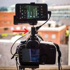 Holder BallHead Kamera => HotShoe /HOLDER di TRIPOD / Flash Kamera