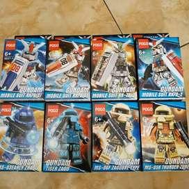 Lego nonori gundam series