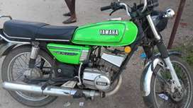 Yamaha rx 135    1996 model  All Papers are clear Exchange also