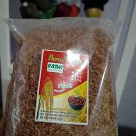 Beras merah merk Raswi