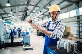 Hiring for  Automobile company (machine operator
