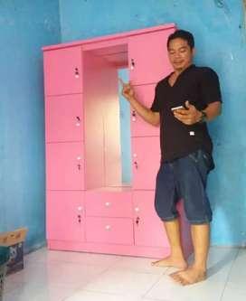 minimalis lemari loker