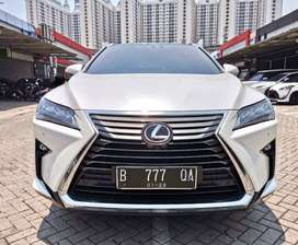 Lexus RX200 Luxury ATPM 2016 Putih KM 11rb ANTIK