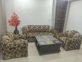 5 seater sofa with centre table