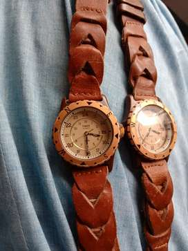 Two TIMEX QUARTZ WATCHES