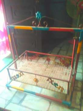 Strong Iron jhula for kids