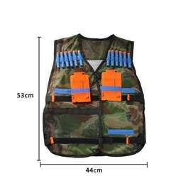 kids elite tactical vest for nerf  rompi nerf anak