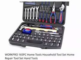 Work pro 165 piece tool set excellent professional quality hard case