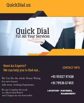 QUICK DAILS ( ALL TYPE OF HOME SERVICES)