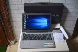 Laptop Gaming Asus X555B Amd A9 VGA 2GB fulset msh garansi