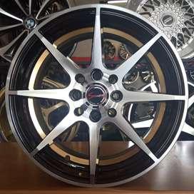 Velg Samurai 8 ring 15x7 H8 pcd 100+114.3 on Sigra datsun Chevrolet