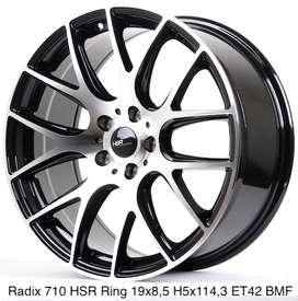 jualann RADIX 710 HSR R19X85 H5X114,3 ET42 BMF