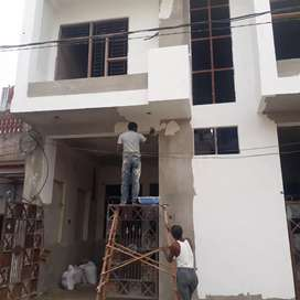 Redy to shift 2bhk semi furnished semi duplex