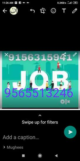 Huge salary with minimum kind of work part time online job