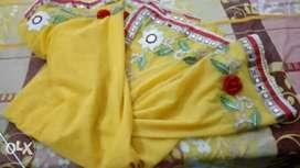 Unused Saree (unstiched blouse)