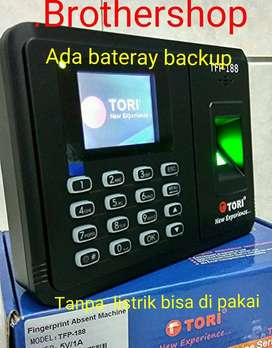 Mesin absensi sidik jari/fingerprint TORI TFP 188
