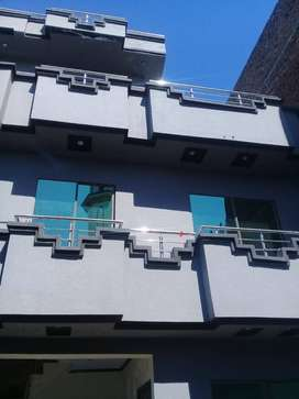 3.6 Marla House 1.7 story for sale in Ghouri town near khanan pull