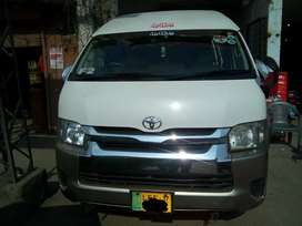 Toyota Hiace TRH224, Model 2014, Registered 2016