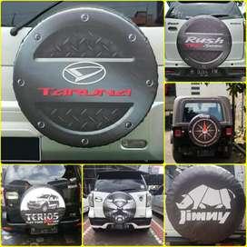 Escudo Mitsubishi Pajero Sarung Ban Taruna Terios Cover Ban Rush 96