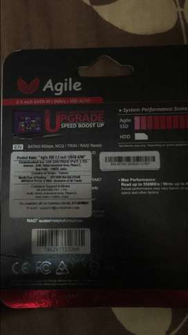 Agile SSD CARD with best and low price .
