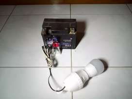Fitting Lampu bisa dipakai pd Aki bekas