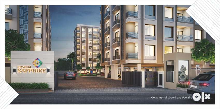 Best designed 3 BHK Flats with 3 Balconies   in  , Vasna Bhayli Road 0