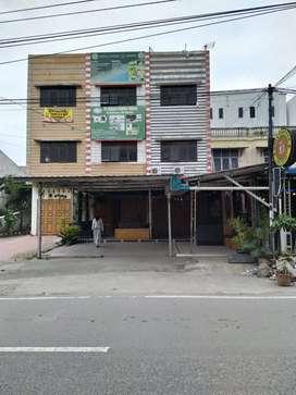 Jual 2 Ruko Straegis Di Tengah Kota Murah Sebelah Kampus Panca Budi